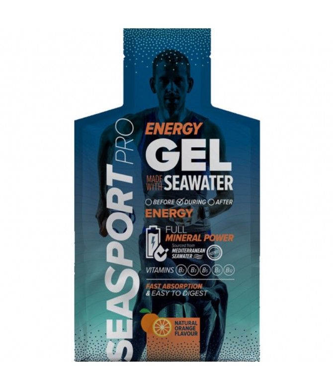 Seasport PRO Energy Gel Laranja 32ml