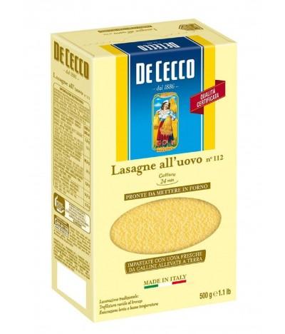 Massa Lasanha com Ovo De Cecco 500gr