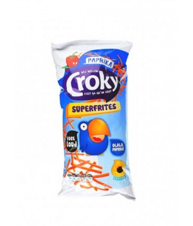 Croky Batata Frita Sticks Paprika 150gr