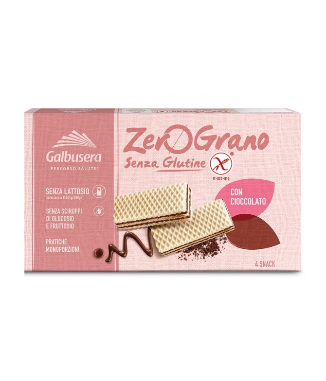Galbusera Wafer ZeroGrano Chocolate 180gr