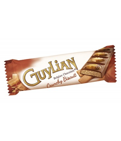 Chocolatinas de Conchas de Chocolate Belga Crunchy Biscuit Guylian