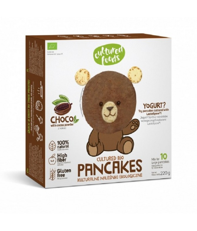Cultured Foods Panquecas Chocolate BIO 220gr