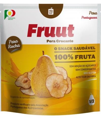 Fruut Snack Chips de Pêra 100 %