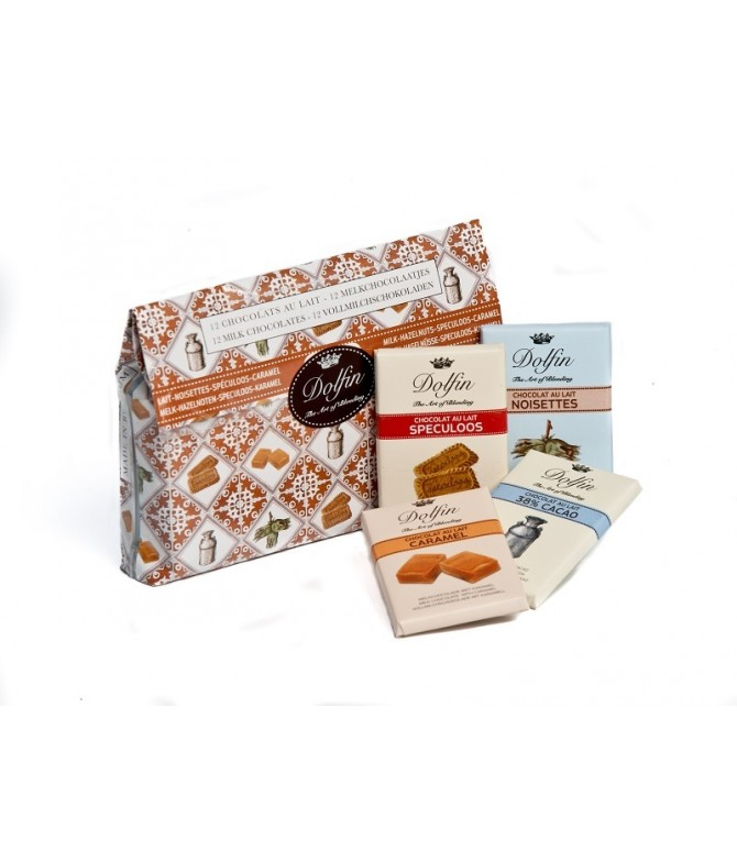 Dolfin Pochette Chocolate Leite 12un