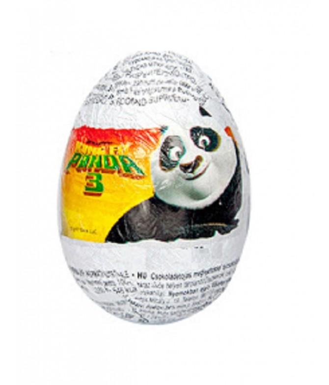 Zaini Huevo Sorpresa Panda Kung Fu 3 20gr
