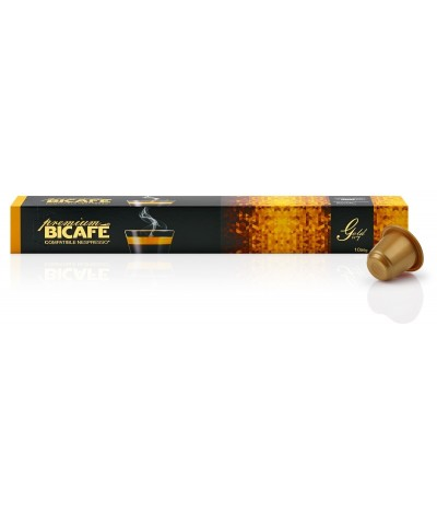 Café Gold 10 cps compatível Nespresso Bicafé