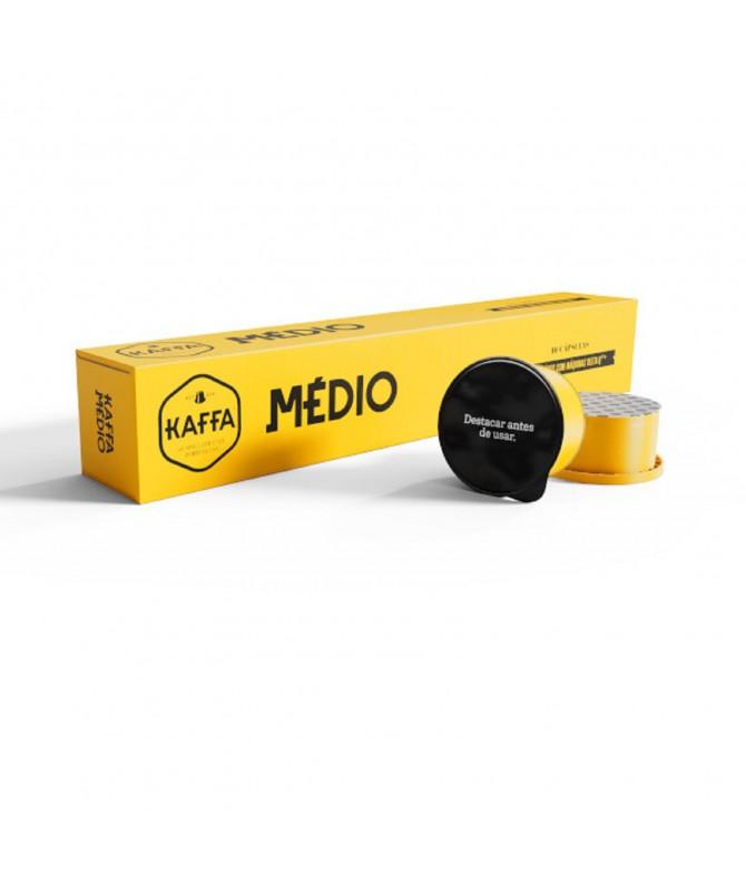 Kaffa Café Medium Compatiblel Delta Q 10un