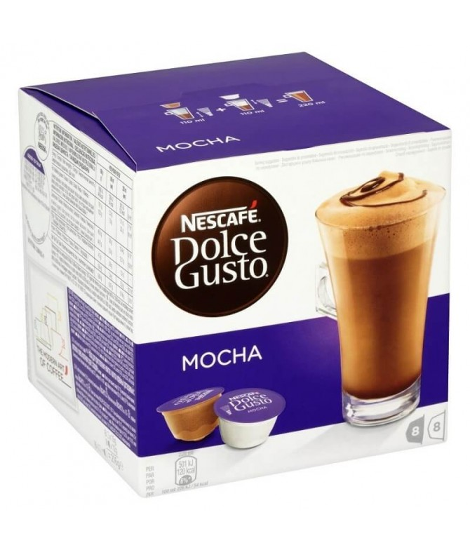 Nescafé Dolce Gusto Mocha 8+8un