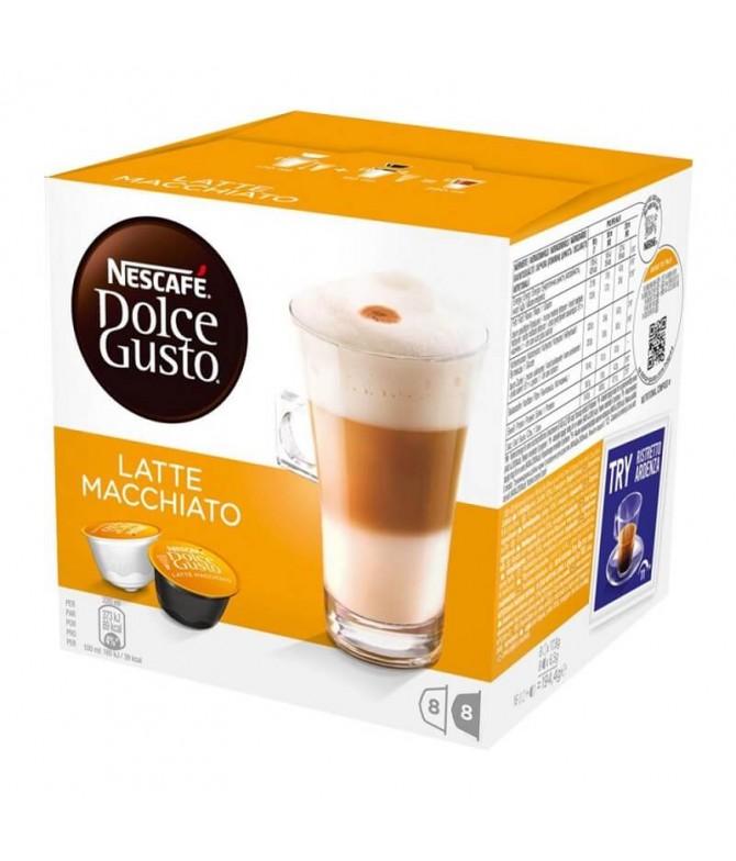 Nescafé Dolce Gusto Latte Macchiato 8+8un