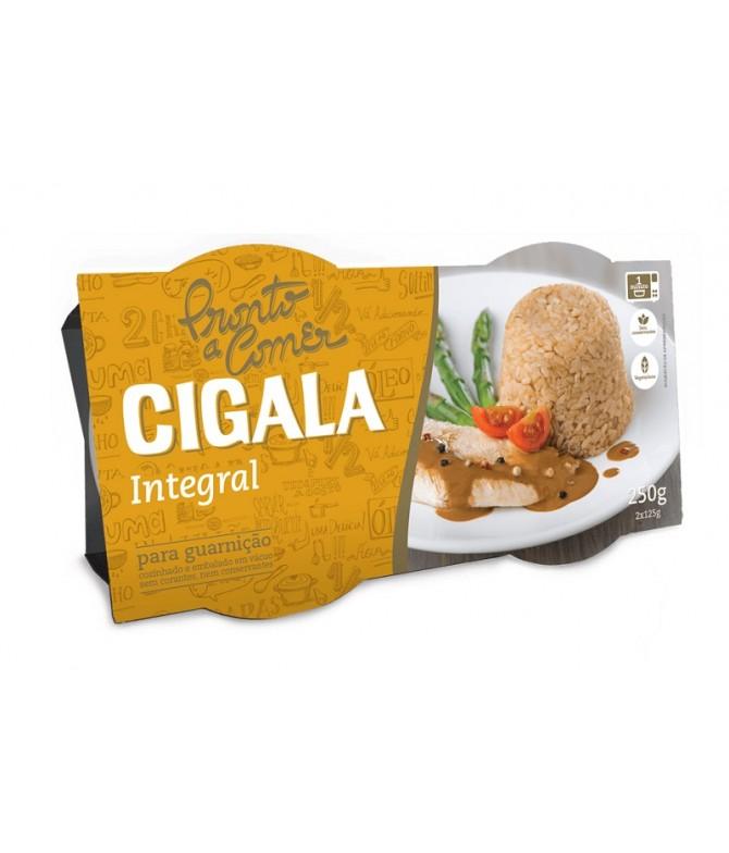 Cigala Listo Para Comer Arroz Integral 2x125gr