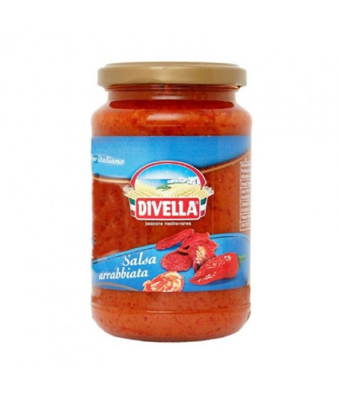 Divella Salsa Tomate Arrabbiata 340gr T
