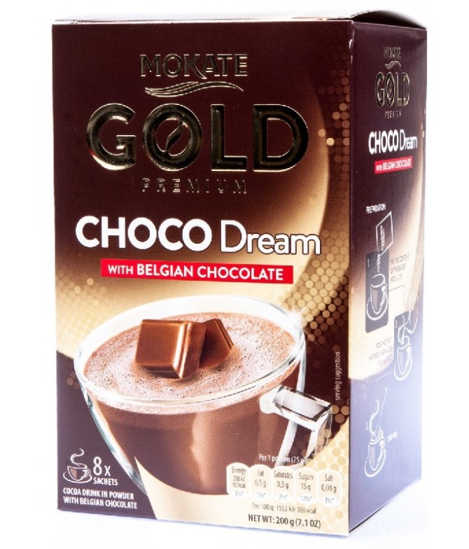 Mokate Gold Premium Choco Dream 8un T