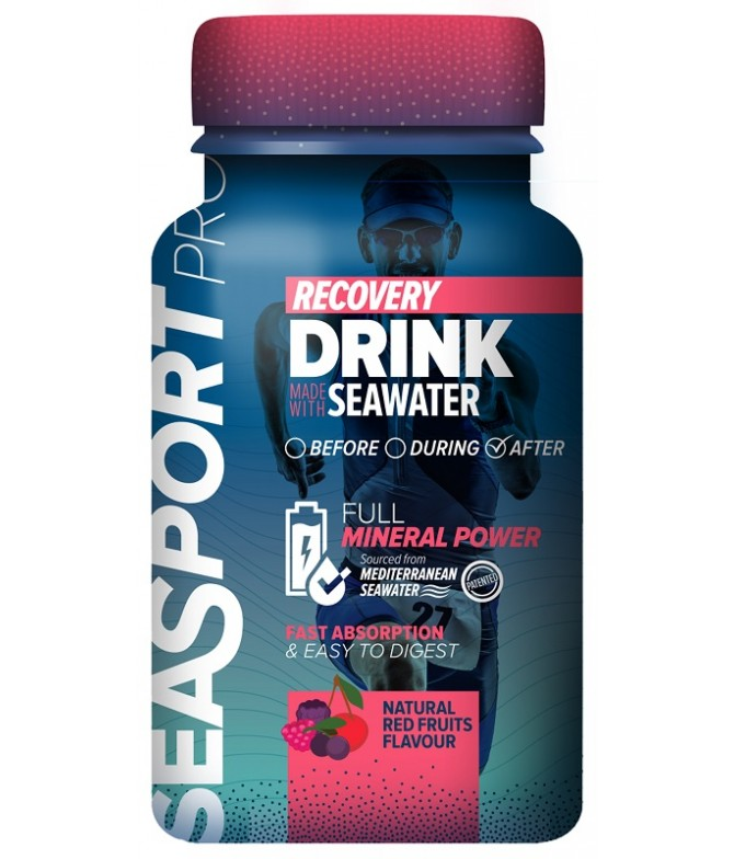 Seasport PRO Energy Gel Frutos Vermelhos 100ml