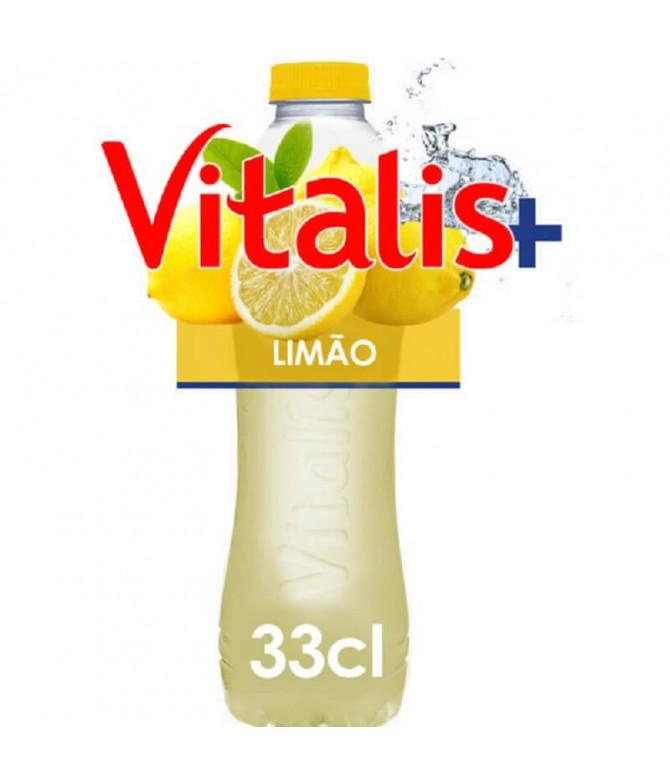 Vitalis+ Agua & Zumo Limón 33cl T