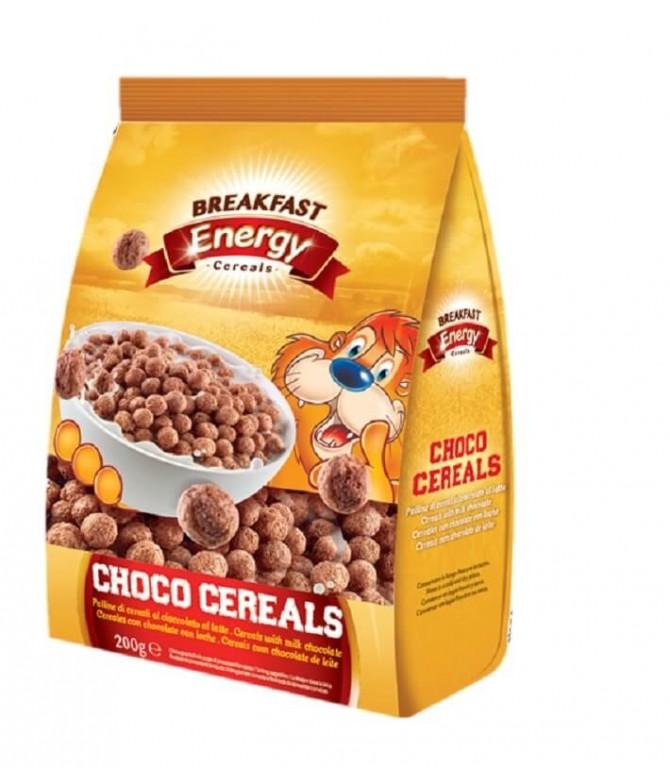Breakfast Energy Cereais Chocolate 200gr