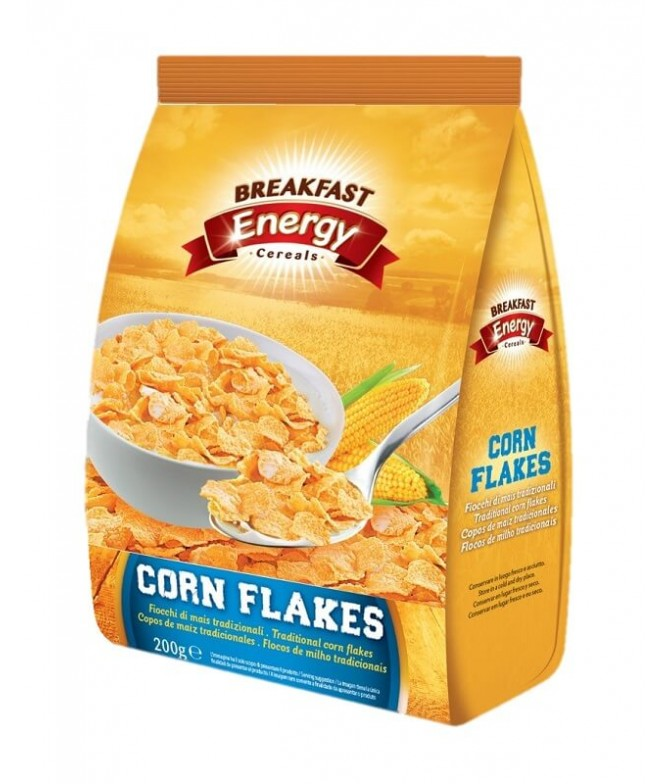 Breakfast Energy Corn Flakes 200gr